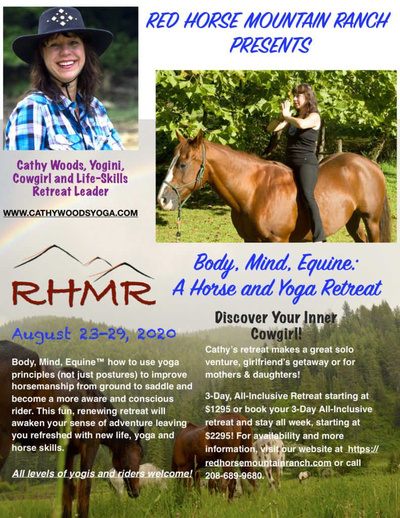 Red Horse Mountain Ranch Flyer